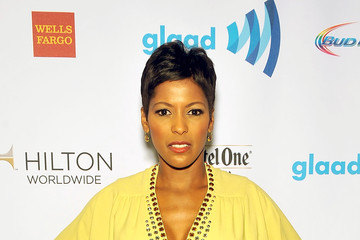 Tamron Hall 25th Annual GLAAD Media Awards In New York - Backstage