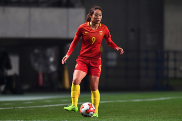 Tang Jia Li China v North Korea - EAFF E-1 Women's Football Championship
