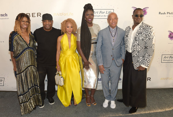 Russell Simmons' Rush Philanthropic Arts Foundation Hosts the Midnight at the Oasis Annual Art for Life Benefit - Arrivals