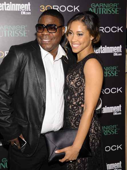 Tracy Morgan Amp Girlfriend Tanisha Hall Attend 30 Rock