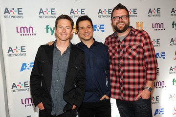 Tanner Foust Arrivals at A+E Networks Upfront