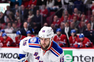 Tanner Glass New York Rangers v Montreal Canadiens - Game One