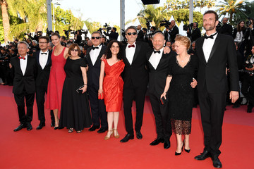 Tanya Seghatchian Tomasz Kot Closing Ceremony And 'The Man Who Killed Don Quixote' Red Carpet Arrivals - The 71st Annual Cannes Film Festival