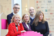 (L-R) Trudie Styler, Marco Danieli, Zoe R. Cassavetes , Nicola Guaglianone and Camilla Nesbitt attend a photocall during the 12th Rome Film Fest at Casa Alice on November 2, 2017 in Rome, Italy.