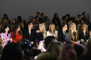 Kimberly Guilfoyle, Michael Boulos, Tiffany Trump, Marla Maples and Masha Rudenko attend the Taoray Wang front row during New York Fashion Week: The Shows at Gallery II at Spring Studios on February 9, 2019 in New York City.