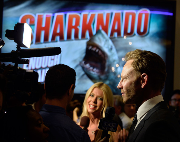 """Fathom Events Presents The Premiere Of The Asylum And Syfy's """"Sharknado"""" - Arrivals"""