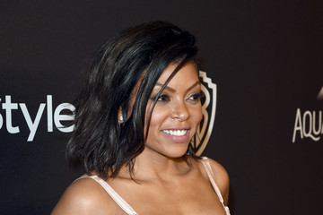 Taraji P. Henson The 2016 InStyle and Warner Bros. 73rd Annual Golden Globe Awards Post-Party - Red Carpet