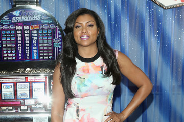 "Taraji P. Henson Sony Pictures' ""THINK LIKE A MAN TOO"" Press Junket Photo Call With The Cast"