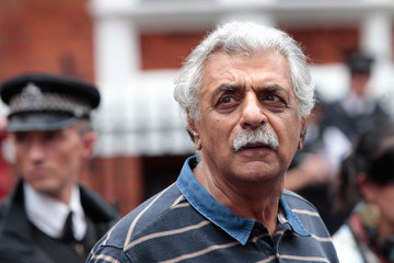 Tariq Ali Wikileaks Founder Julian Assange Makes A Statement At The Ecuadorian Embassy