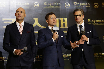 Taron Egerton 'Kingsman: The Golden Circle' Seoul Premiere