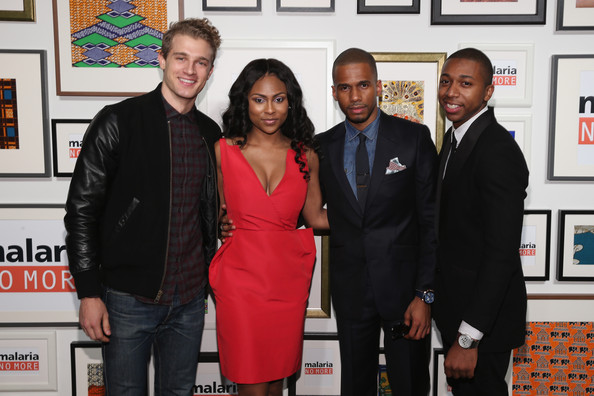 Malaria No More 2014 International Honors Gala Benefit In New York [red,event,flooring,carpet,premiere,award,team,pasha pellosie,eric west,tashiana washington,ty hickson,malaria no more 2014 international honors gala benefit,new york]