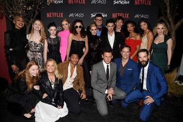 Tati Gabrielle Adeline Rudolph Premiere Of Netflix's 'Chilling Adventures Of Sabrina' - Red Carpet