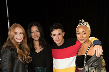 Tati Gabrielle Gavin Leatherwood Netflix Original Series 'Chilling Adventures Of Sabrina' Special Preview Of The Spellman House