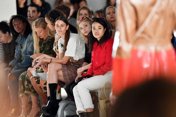 Tavi Gevinson Creatures of the Wind - Front Row - September 2017 - New York Fashion Week: The Shows