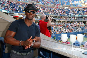 Taye Diggs The Moet & Chandon Suite At The 2014 US Open - Women's Final