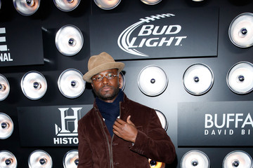 Taye Diggs Buffalo David Bitton At The Playboy Party At The Bud Light Hotel Lounge