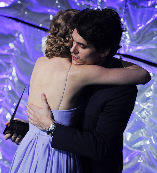 Taylor Swift and John Mayer - 41st Annual Songwriters Hall Of Fame - Show