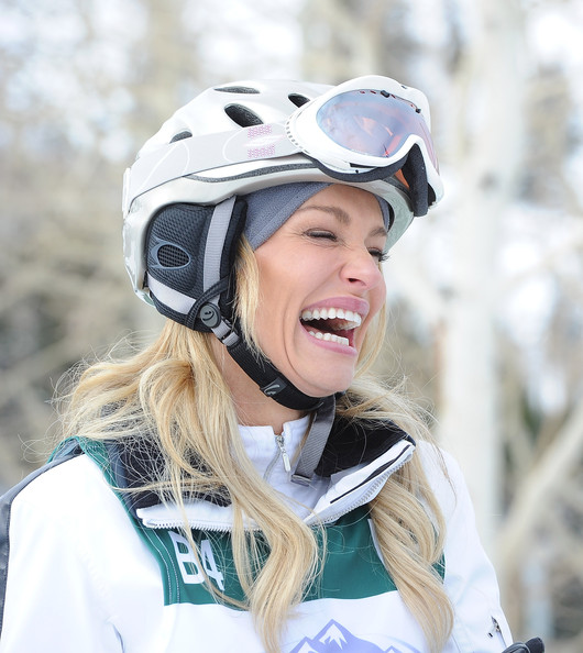 Taylor Armstrong Television personality Taylor Armstrong competes in the 19th Annual Deer Valley Celebrity Skifest the Deer Valley Resort  on December 4, 2010 in Salt Lake City, Utah.