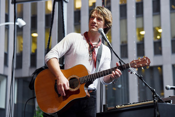 Taylor Hanson Hanson Performs on Fox & Friends' All-American Summer Concert Series