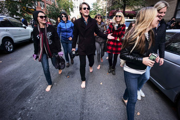 Taylor Hanson Hanson's Take the Walk Campaign - New York, NY