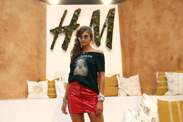 Taylor Hill H&M Loves Coachella Tent at The Empire Polo Field