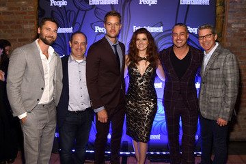 Taylor Kinney Entertainment Weekly & People New York Upfronts Party 2018 - Inside
