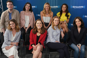 Taylor Louderman Ashley Park SiriusXM's Town Hall With The Cast And Creatives Of 'Mean Girls' On Broadway