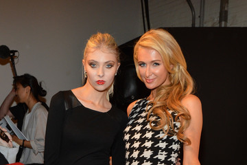 Taylor Momsen MBFW: alice + olivia by Stacey Bendet