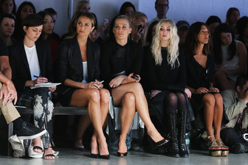 Taylor Momsen Helmut Lang - Front Row - Mercedes-Benz Fashion Week Spring 2014