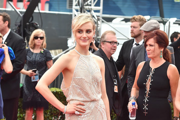 Taylor Schilling Arrivals at the 66th Annual Primetime Emmy Awards