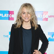 Taylor Schilling Plays Host in NYC