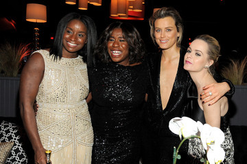 Taylor Schilling The Weinstein Company and Netflix Golden Globe Party- Inside