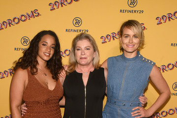 Taylor Schilling Refinery29's 29Rooms Chicago: Turn It Into Art Opening Party 2018