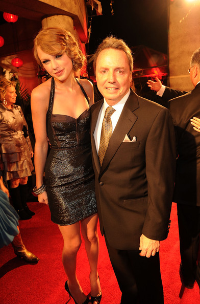 Taylor Swift Taylor Swift and Jody Williams, BMI VP Writer/Publisher Relations Nashville attend the 58th Annual BMI Country Music Awards at BMI on November 9, 2010 in Nashville, Tennessee.