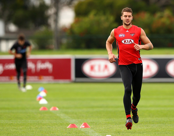 Tayte Pears - Essendon Bombers Training Session