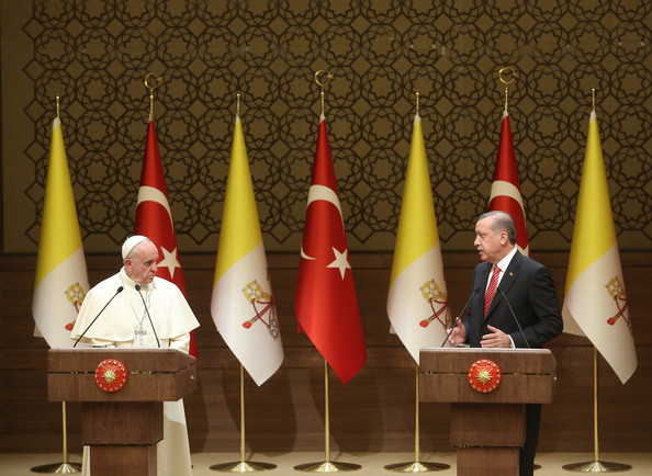 Pope Francis Pays A Three Day Visit To Turkey []