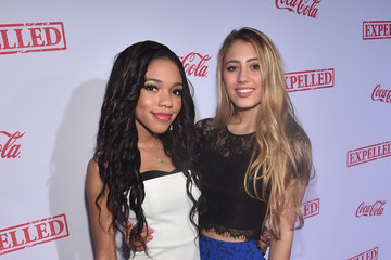 Teala Dunn Lia Marie Johnson 'Expelled' Premieres in Westwood
