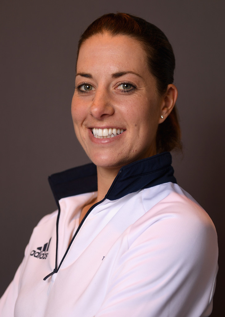 Charlotte dujardin in team gb kitting out ahead of rio for Charlotte dujardin