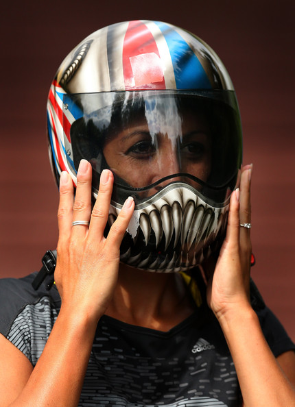 Shelley Rudman Helmet