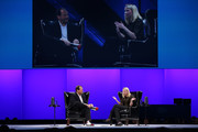 Marissa Mayer and Marc Benioff Photos Photo
