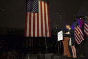 Carly Fiorina introduces Republican Presidential candidate Senator Ted Cruz (R-TX) at his Pennsylvania kick off event  at the National Constitution Center on April 19, 2016 in Philadelphia, Pennsylvania. The Pennsylvania Republican Primary is scheduled for April 26.