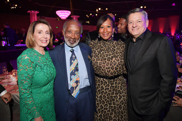 Ted Sarandos Nicole Avant Pre-GRAMMY Gala And GRAMMY Salute To Industry Icons Honoring Clarence Avant – Inside