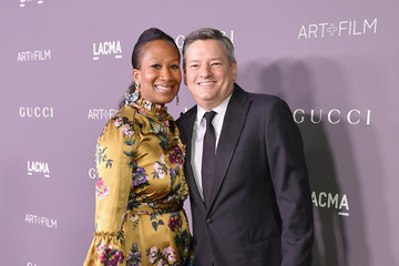 Ted Sarandos Nicole Avant 2017 LACMA Art + Film Gala Honoring Mark Bradford and George Lucas Presented by Gucci - Red Carpet