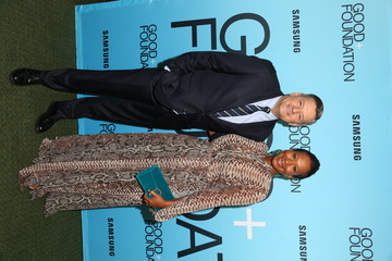 Ted Sarandos Nicole Avant GOOD+ Foundation 'An Evening Of Comedy + Music' Benefit