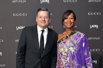 Ted Sarandos Nicole Avant 2018 LACMA Art + Film Gala Honoring Catherine Opie And Guillermo Del Toro Presented By Gucci - Red Carpet