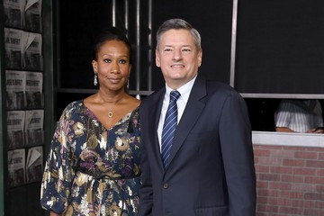 "Ted Sarandos Nicole Avant Premiere Of Netflix's ""The Irishman"" - Arrivals"