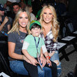 Teddi Mellencamp Celebrities At The Monster Energy NASCAR Cup Series Race At Auto Club Speedway