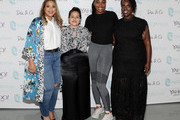 [Editor's Note: image has been retouched] Chastity Garner Valentine, Nadia Boujarwah, Venus Williams, and Cece Olisa attend theCURVYcon Powered By Dia&Co on September 7, 2018 in New York City.