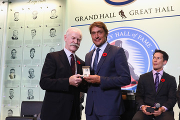 Teemu Selanne 2017 Hockey Hall Of Fame Induction - Press Conference