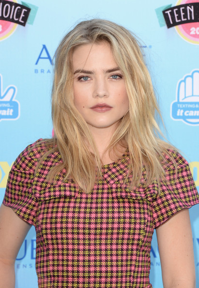 Actress Maddie Hasson attends the Teen Choice Awards 2013 at Gibson Amphitheatre on August 11, 2013 in Universal City, California.